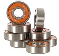 Enjoi ABEC 7(Teenish) Skateboard Bearings - orange