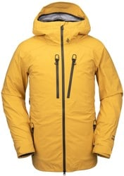 Volcom Guch Stretch Gore-Tex Jacket - resin gold