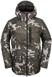 Volcom Deadly Stones Jacket - gi camo