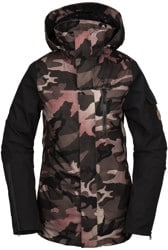Volcom Vault 4-In-1 Insulated Jacket - faded army