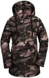 Volcom Fern Gore-Tex Pullover Insulated Jacket - faded army