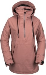 Volcom Fern Gore-Tex Pullover Insulated Jacket - mauve