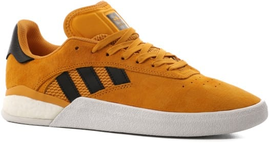 Adidas 3ST.004 Skate Shoes - (miles silvas) tactile yellow/core black/gold metallic - view large