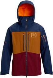 Burton AK Gore-Tex Swash Insulated Jacket - dress blue/monks robe/port royal