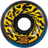 Santa Cruz Slime Balls Skateboard Wheels - swirly black/blue swirl (78a)