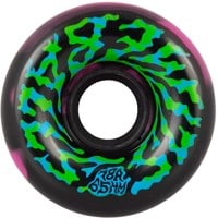 Santa Cruz Slime Balls Skateboard Wheels - swirly black/pink swirl (78a)