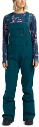 Burton Avalon Bib Pants - deep teal