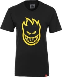 Spitfire Women's Bighead T-Shirt - black/yellow