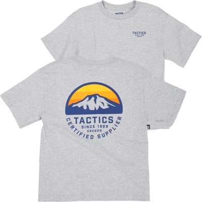 Tactics Kids Bachelor T-Shirt - heather grey - view large