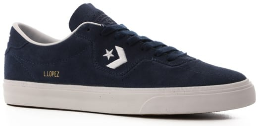 Converse Louie Lopez Pro Skate Shoes - navy/white/gum - view large