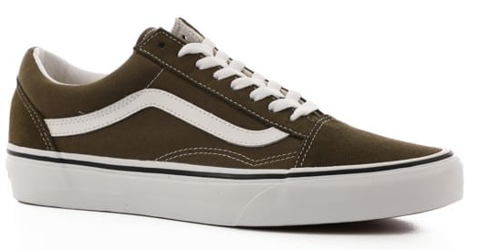 Vans Old Skool Skate Shoes - beech/true white - view large