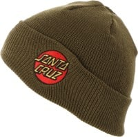 Santa Cruz Classic Dot Beanie - forest green