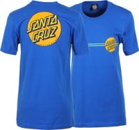 Santa Cruz Women's Other Dot T-Shirt - true royal