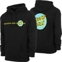 Santa Cruz Other Dot Hoodie - black/blue/yellow