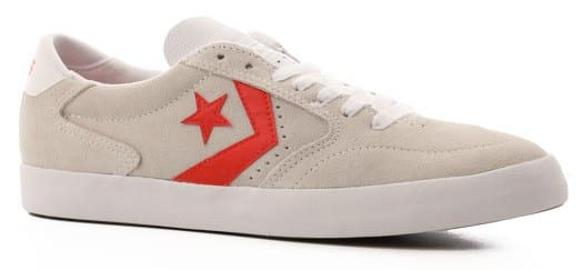 Converse Checkpoint Pro Skate Shoes - white/habanero red/white - view large