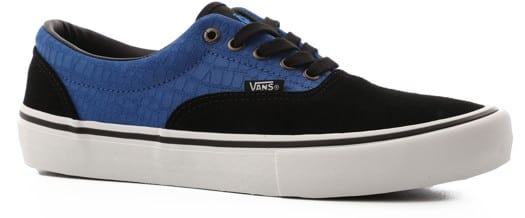 Vans Era Pro Skate Shoes - (rowan zorilla) black/blue croc - view large