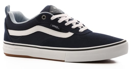 Vans Kyle Walker Pro Skate Shoes - dress blues/blue fog - view large