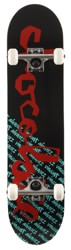 Chocolate Alvarez Original Chunk 7.5 Complete Skateboard - black/red