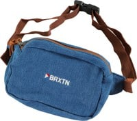 Brixton Stowell V Hip Bag - blue washed denim
