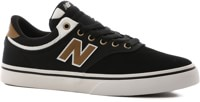 New Balance 255 Skate Shoes - black/brown
