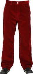 Polar Skate Co. '93 Cords Pants - red