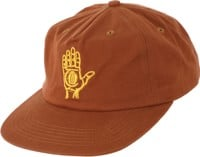 Theories Hand Of Theories Strapback Hat - cinnamon/gold