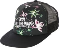 Vans Classic Patch Plus Trucker Hat - black west street floral