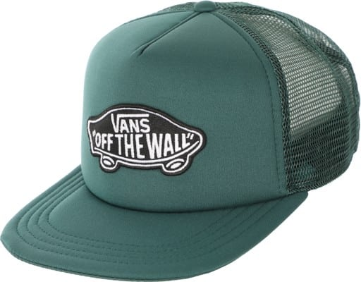 Vans Classic Patch Trucker Hat - vans trekking green - view large