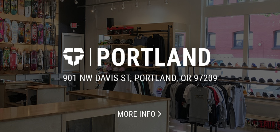 Portland skate and snowboard shop