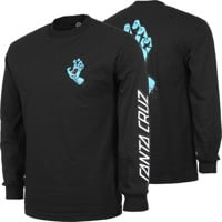 Santa Cruz Screaming Hand L/S T-Shirt - black