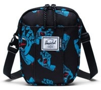 Herschel Supply Cruz Crossbody - (santa cruz) black cyan screaming hand