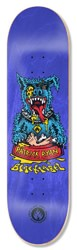 Black Label Ryan Rip Dog 8.25 Skateboard Deck - blue
