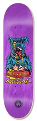 Black Label Ryan Rip Dog 8.25 Skateboard Deck - purple