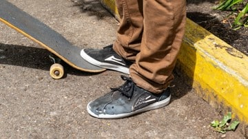 Lakai Flaco II Skate Shoes Wear Test Review