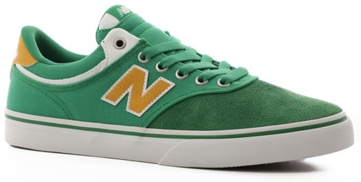 New Balance 255 Skate Shoes - green/yellow - view large