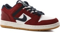 Nike SB Air Force II Skate Shoes - team red/obsidian-white-summit white