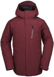 Volcom L Gore-Tex Jacket - burnt red