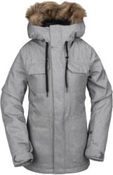 Volcom Shadow Insulated Jacket - heather grey