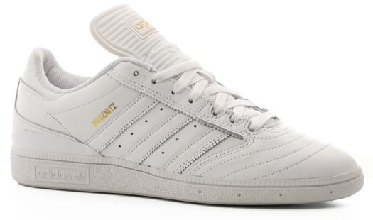 Adidas Busenitz Pro Skate Shoes - footwear white/gold metallic/footwear white - view large