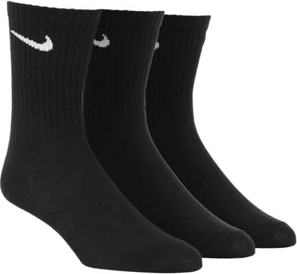 Nike SB Everyday LTWT 3-Pack Sock - black/(white) - view large