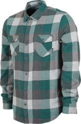 Vans Box Flannel - vans trekking green/grey heather