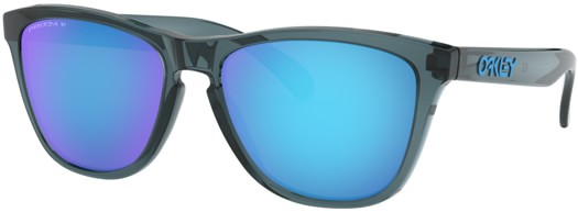 Oakley Frogskins Polarized Sunglasses - crystal black/prizm sapphire polarized lens - view large