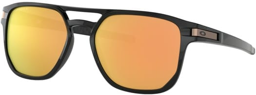 Oakley Latch Beta Sunglasses - polished black/prizm rose gold lens - view large
