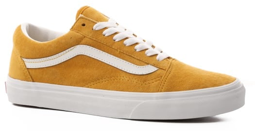 Vans Women's Old Skool Shoes - (pig suede) mango mojito/true white - view large