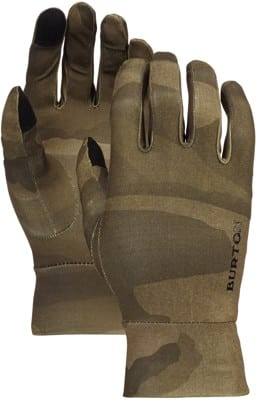 Burton Touchscreen Liner Gloves - worn camo - view large
