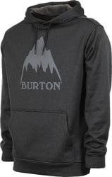 Burton Oak Hoodie - mountain true black heather