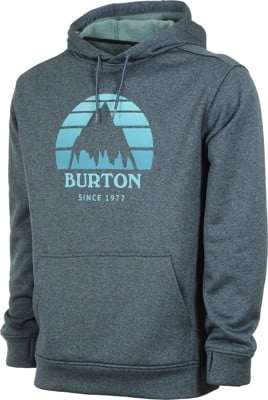 Burton Oak Hoodie - sunset dress blue heather - view large