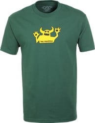 Toy Machine OG Monster T-Shirt - forest/gold