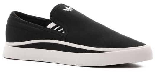 Adidas Sabalo Slip-On Shoes - core black/footwear white/core black - view large