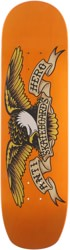 Anti-Hero Shaped Eagle Overspray Orange Crusher 9.1 Skateboard Deck